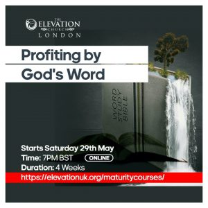 Profiting By God's Word